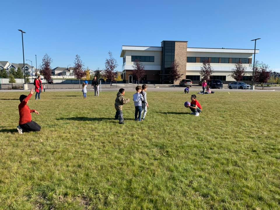 Global Aware Care Savaryn Out of School Care children playing outdoors