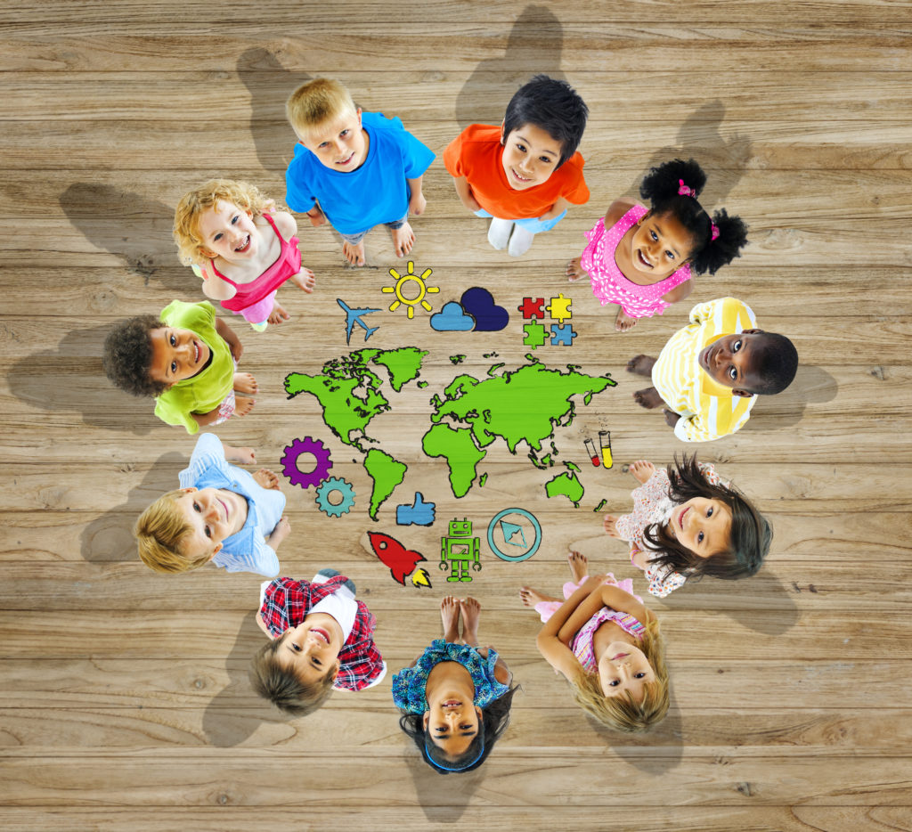 Global Aware Care Childcare children of the world