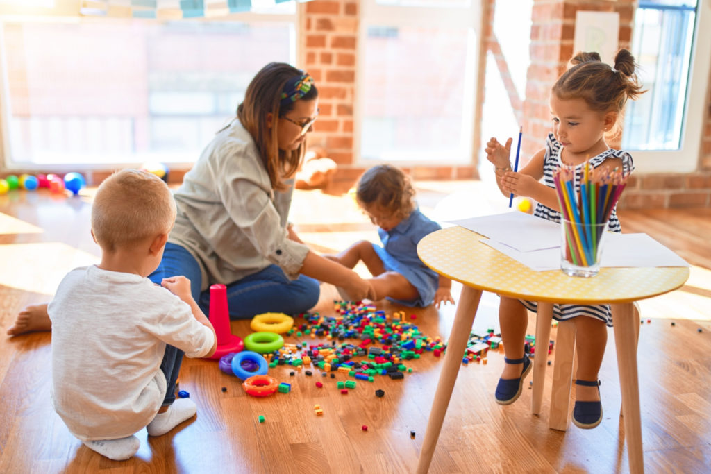 Global Aware Care experienced Educator playing with Toddlers
