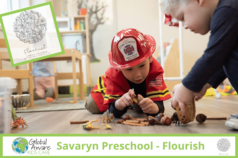 Global Aware Care Savaryn Flourish Preschool children playing