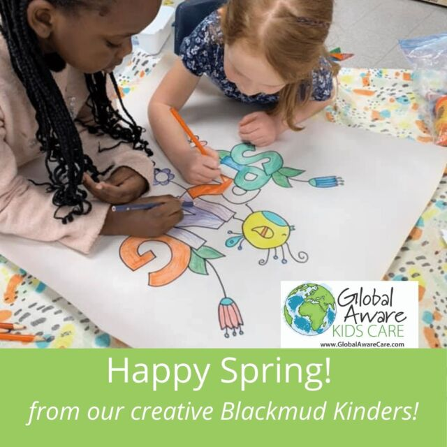 Spring is here and our Blackmud Kinders are having fun learning all about Spring this week!